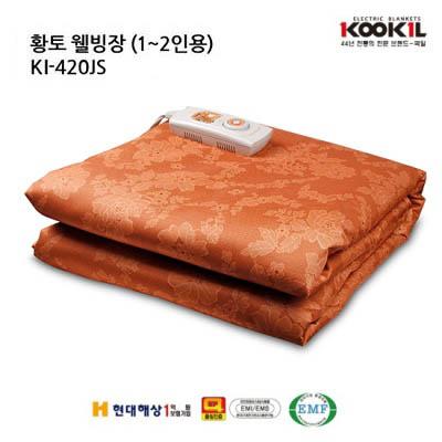 국일 황토 웰빙 싱글 전기장판 KI-420JS